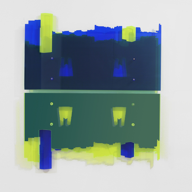 Francesco Candeloro, 'Linee Verticali (Colonia)', 2016, Mixed Media, Laser etching on plexiglass, A arte Invernizzi