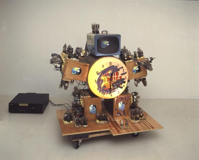 Nam June Paik, 'TV SERVICE ROBOT', 1997, James Cohan