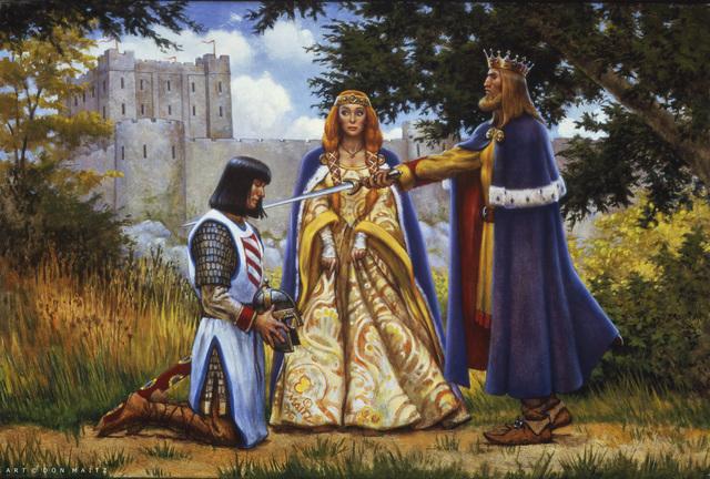 , 'Arthur Knights Lancelot,' 1996, IX Gallery
