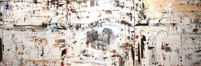 , 'Viewpoints: A Vérité (Triptych),' 2016-2017, Gallery 38