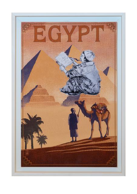 , 'Bon Voyage - Egypt,' 2017, Janet Rady Fine Art