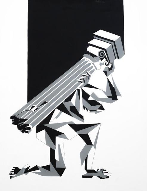 , 'Burden of the Broken Pillar,' 2018, Ground Effect Gallery