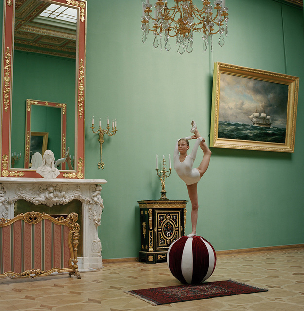 Valery Katsuba, 'Gymnast at the Yuspov Palace (II)', 2014, Isabelle Serrano Fine Art Gallery