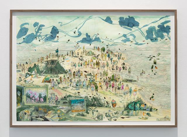 Peter Köhler, 'A Day at the Beach', 2019, Galleri Magnus Karlsson
