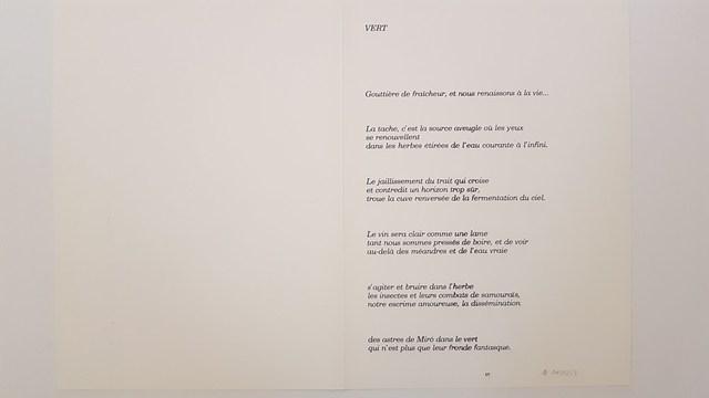 Joan Miró, 'Composition', 1956, Print, Lithograph, Cerbera Gallery
