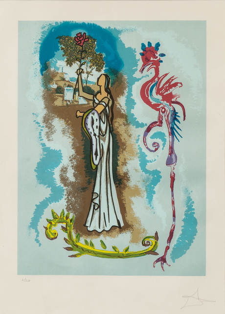 Salvador Dalí, 'Ivanhoe Suite of Four Images', 1977-79, Skinner