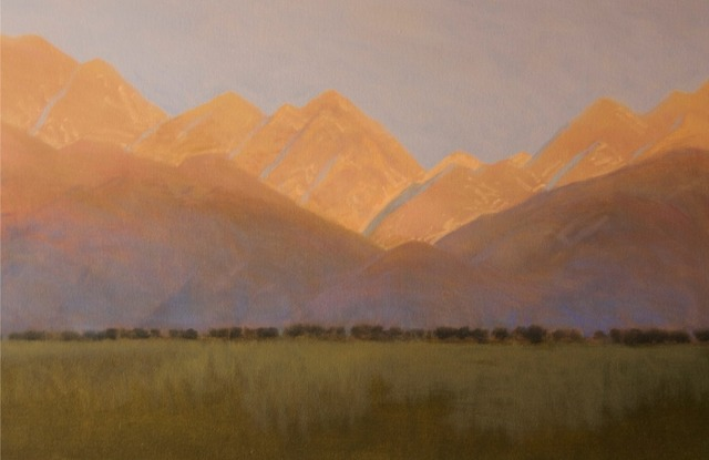 , 'Mountain Sunrise,' 2018, Wally Workman Gallery