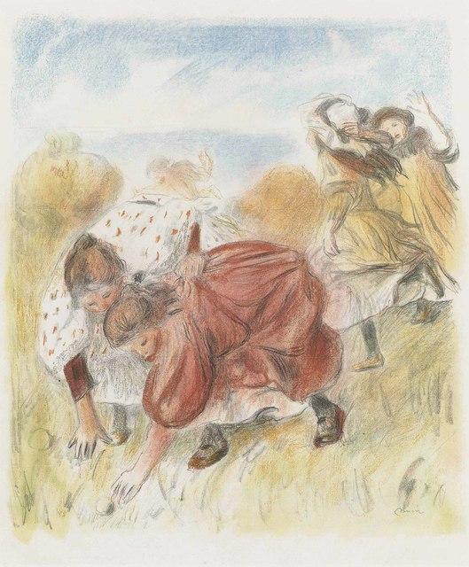 Pierre-Auguste Renoir, 'Enfants jouant à la balle', 1900, Christie's