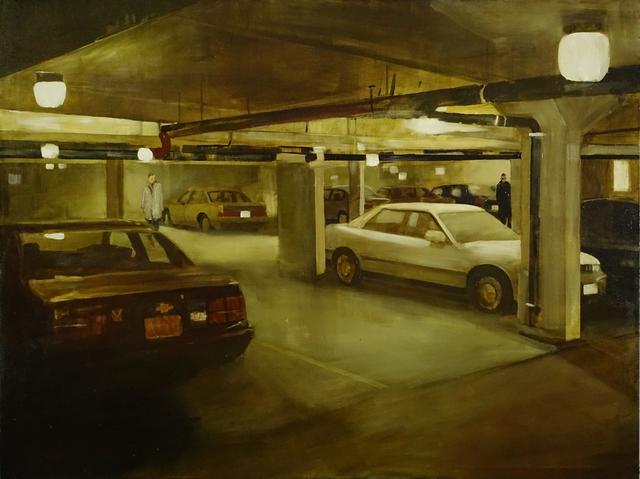Michael Harrington, 'Underground', 2019, Painting, Huile sur toile / Oil on canvas, Galerie de Bellefeuille