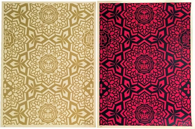 Shepard Fairey, 'Yen Pattern Print (set of 2)', 2007, Artsnap