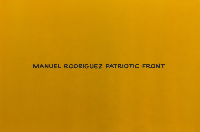 , 'Manuel Rodrquez Patriotic Front (from the series Divine Violence),' 2007, Roberts Projects