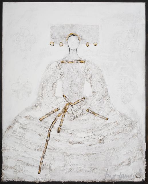 Vladimir Prodanovich, 'White Queen', 2019, Painting, Mixed Media, Ai Bo Gallery