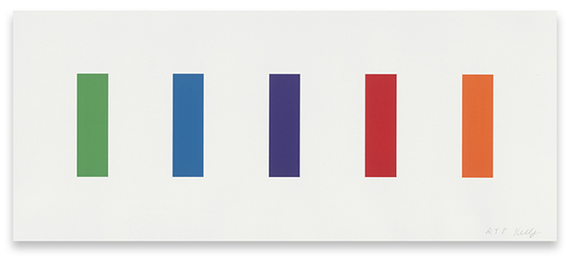 Ellsworth Kelly, 'Color Panels', 2011, Upsilon Gallery