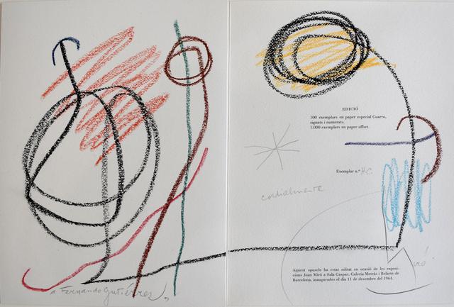 , 'Untitled (Fernando Gutiérrez) | Sans titre,' 1964, Gilden's Art Gallery