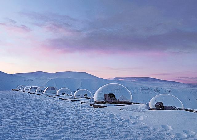 , 'Kjell Henriksen Observatory #1 (KHO), Adventdalen, Spitsbergen Island, Norway,' 2010, [Perpitch et Bringand]