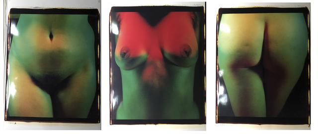 , 'Triptych  P8642 New York,' 1986, Bernheimer Fine Art