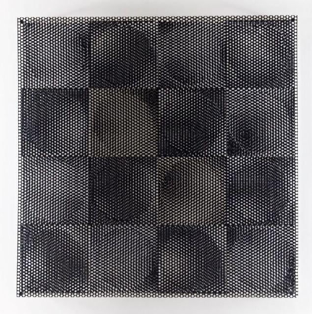 , '8 círculos blancos, 8 círculos negros ,' 1969, El Museo del Barrio