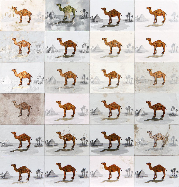 Robert Larson, 'Silver Camels', 2013, River