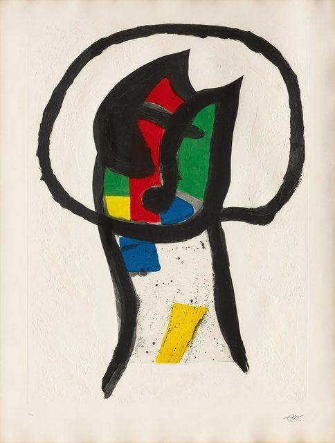 Joan Miró, 'Le Prédicateur', 1981, Koller Auctions