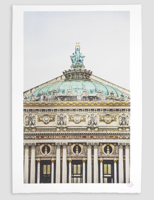 JR, 'Ballet, Regard Surplombant la Facade due Palais Garnier, Opéra de Paris, France 2014 *', 2018, Perrotin