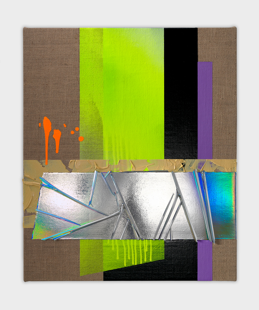 Anselm Reyle, 'Untitled', 2020, Painting, Mixed media on canvas, KÖNIG GALERIE