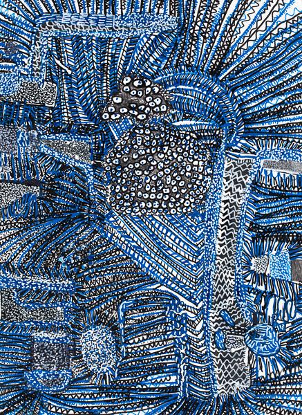 Laron Bickerstaff, 'Blue', 2017, Creativity Explored