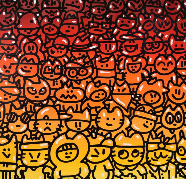 , 'Manifestatique cha,' 2016, Galerie Galea