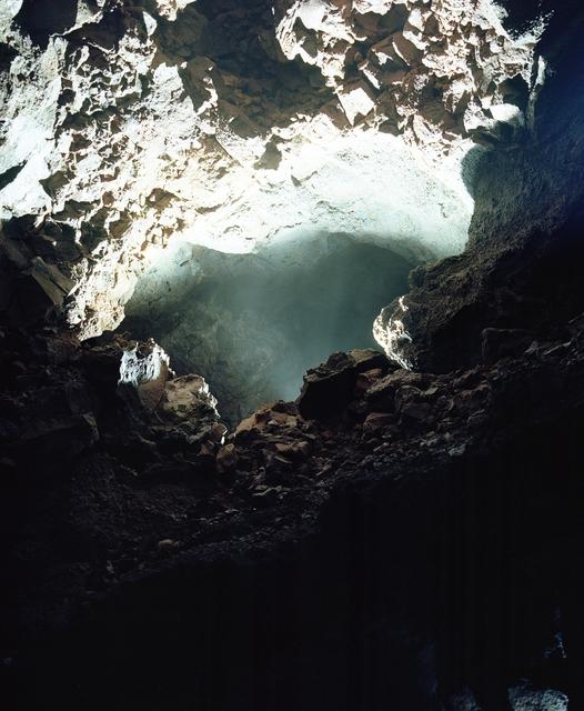 , 'The Cave Series, Vigdelmir Cave 1,' 2017, Prosjektrom Normanns