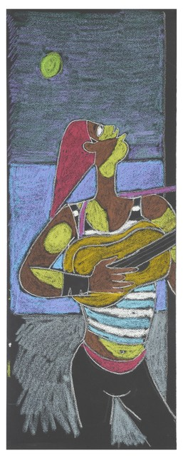 , 'Joueur de Guitare. Serenade au Clair de Lune.,' 1961, William Weston Gallery Ltd.