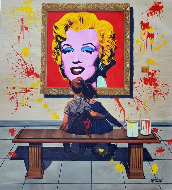 Gully, 'Rockwell meets Warhol', 2018, A.Style