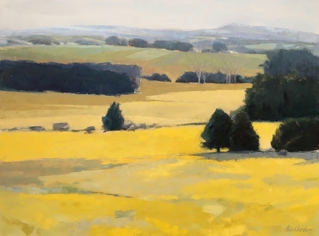 , 'Yellow Prelude,' 2017, Dedee Shattuck Gallery