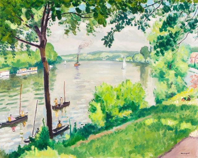 , 'Berge à Triel (Le Remorqueur),' 1931, Moeller Fine Art