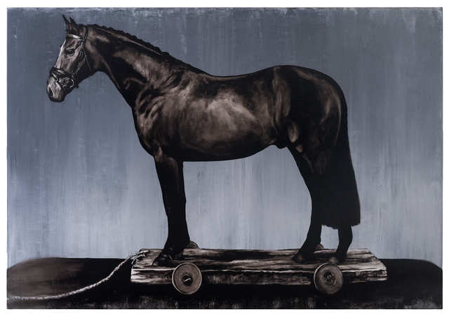 , 'My Kingdom For A Horse # 1,' 2015, Bernhard Knaus Fine Art