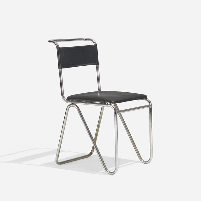 Gispen's Fabriek voor Metaalbewerking N.V., 'Chair', c. 1927, Wright