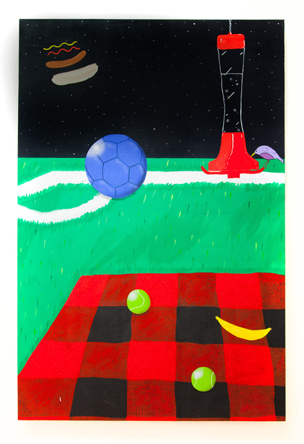 , 'Corner Kick Picnic,' 2017, Miranda Kuo Gallery