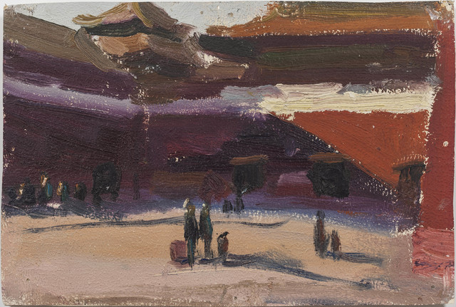 , 'Setting Sun at Meridian Gate,' 1972, Boers-Li Gallery
