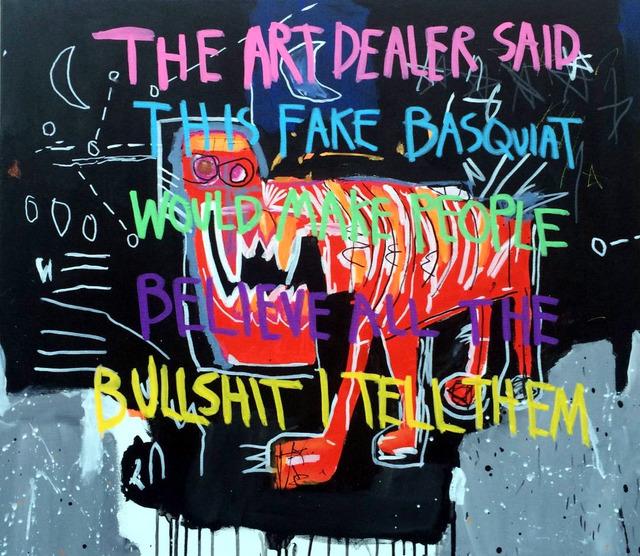 CB Hoyo, 'Bullshit Basquiat', 2018, GR Gallery