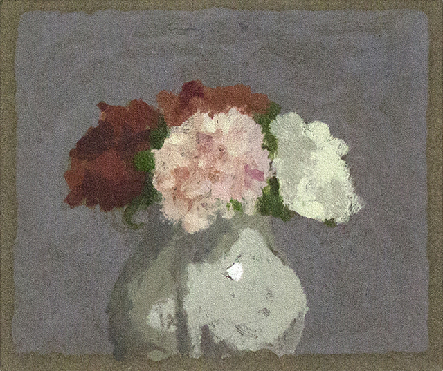 , 'Carnations in a White Vase,' 1986, Davis & Langdale Company, Inc.