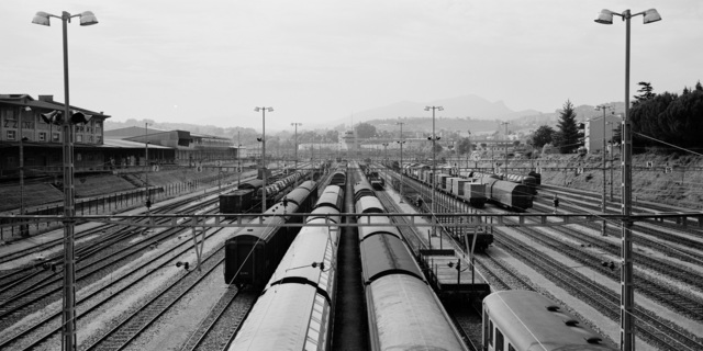 , 'Chiasso Train Station,' 1993, TAG TheArtGallery