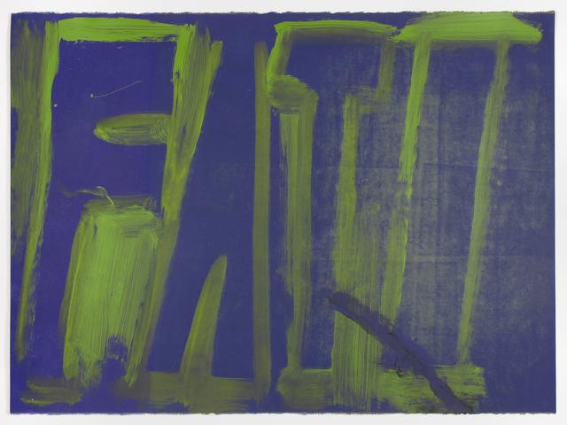 , 'FATI,' 2016, Inman Gallery