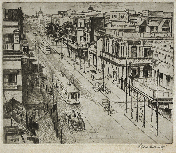 , 'Untitled (Street in Calcutta),' 1930s, Dag Modern