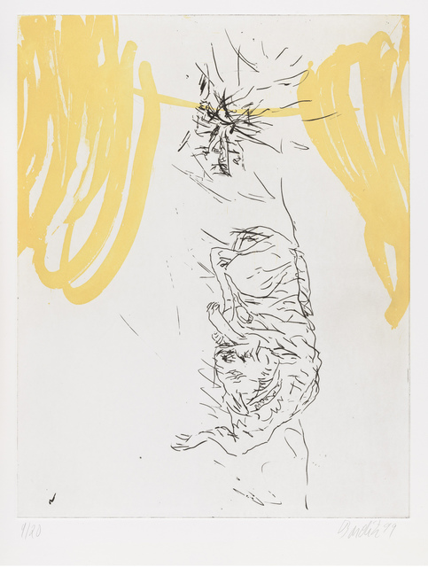 """, 'Ecco, from """"Schlafende Hunde"""",' 1998-1999, Gagosian"""