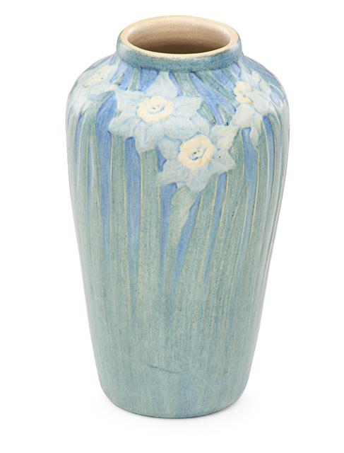 Anna Frances Simpson, 'Transitional vase with daffodils', 1915, Design/Decorative Art, Rago/Wright