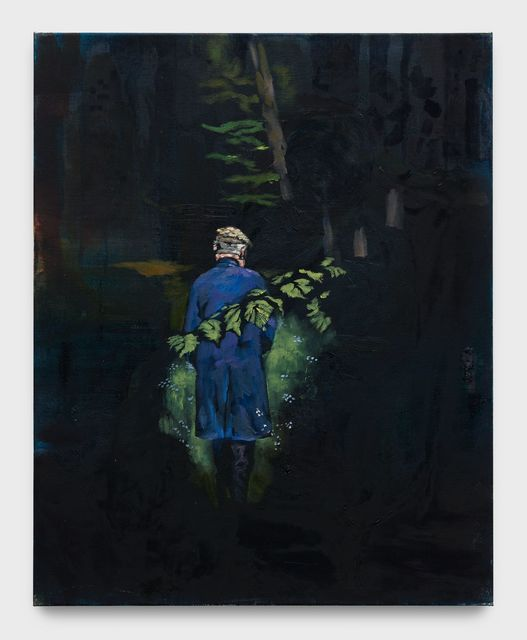Matthieu Ronsse, 'Pepe at the Nuns cemetery', 2018, Painting, Oil on canvas, Almine Rech