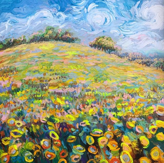 , 'Super Bloom,' 2017, Adelman Fine Art