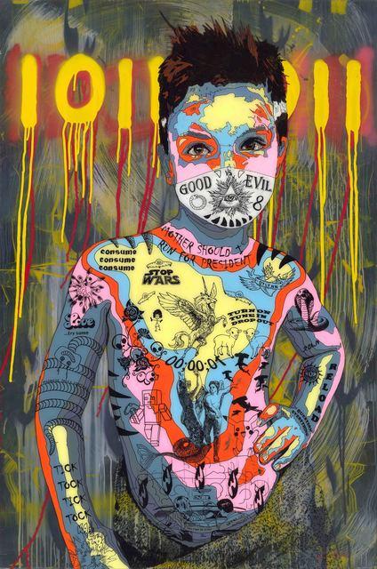 , 'Timekeeper 56 - Stop wars 2,' 2017, Art Supermarket