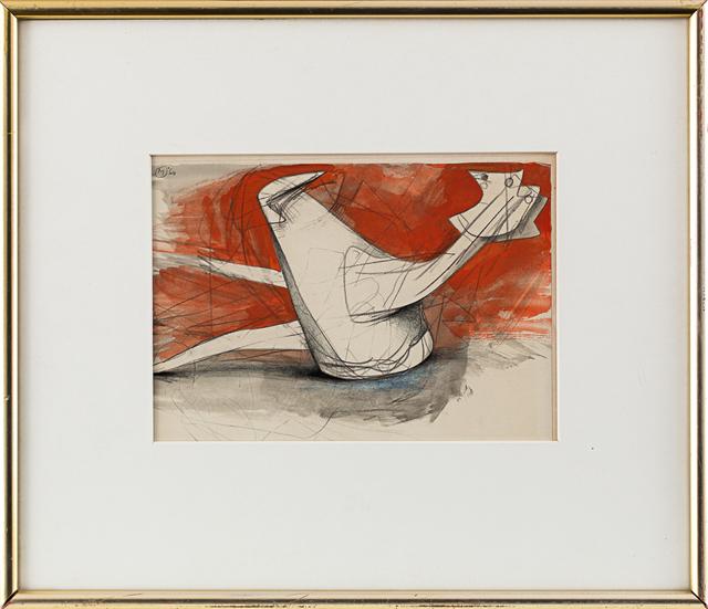 , 'Two Fallen Birds,' 1960, Rosenberg & Co.