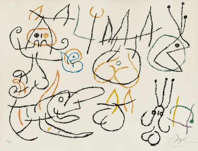 Joan Miró, 'Plate from Ubu aux Baléares', 1971, Skinner