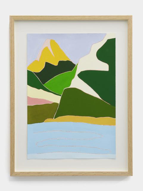 , 'Lac de Geneve (Mountain Study #1),' 2019, MLF | MARIE-LAURE FLEISCH