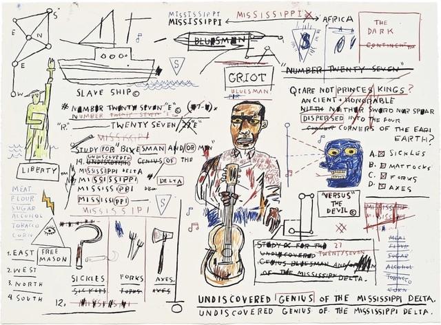 Jean-Michel Basquiat, 'Undiscovered Genuis', 2019, DANE FINE ART